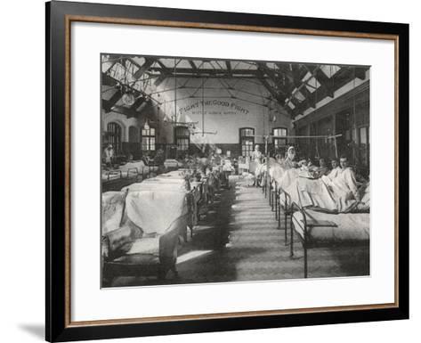 No. 2 (Battle) War Hospital, Reading, Berkshire-Peter Higginbotham-Framed Art Print