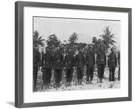 Sierra Leone Frontier Police--Framed Art Print