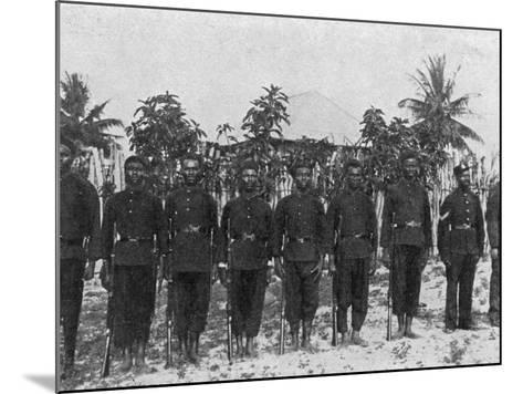 Sierra Leone Frontier Police--Mounted Photographic Print