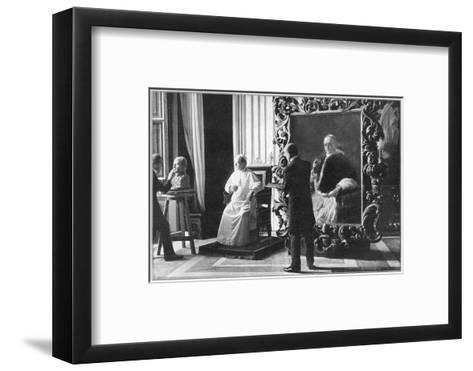 Pope Pius XI Ruled 1922-1939--Framed Art Print
