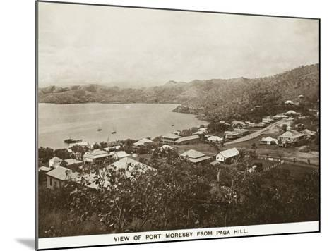 Port Moresby from Paga Hill - Papua New Guinea--Mounted Photographic Print