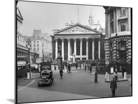 Royal Exchange 1950s--Mounted Photographic Print