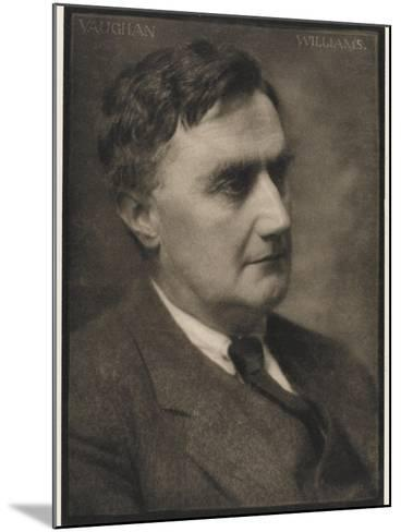 Ralph Vaughan Williams Composer--Mounted Photographic Print