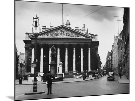 Royal Exchange, London--Mounted Photographic Print