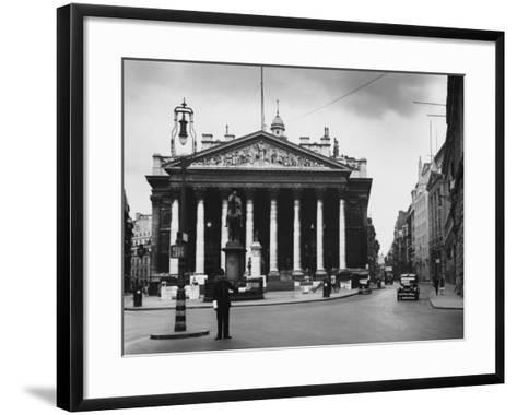 Royal Exchange, London--Framed Art Print