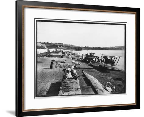 Preston Sands Beach, Paignton, Devon--Framed Art Print
