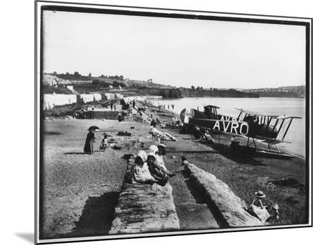 Preston Sands Beach, Paignton, Devon--Mounted Photographic Print