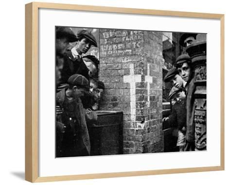 R.I.P in Dublin 1914--Framed Art Print