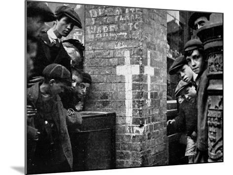 R.I.P in Dublin 1914--Mounted Photographic Print