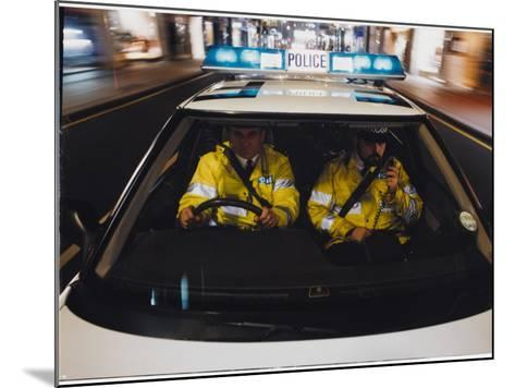 Police Car Chase 1991--Mounted Photographic Print