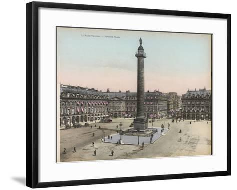 Place Vendome--Framed Art Print