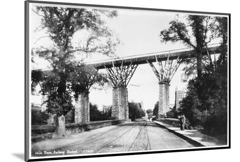 Railway Viaduct, Truro, Cornwall--Mounted Photographic Print