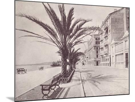 Promenade Des Anglais--Mounted Photographic Print