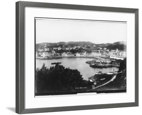 Oban, Argyll and Bute, Scotland--Framed Art Print