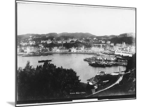 Oban, Argyll and Bute, Scotland--Mounted Photographic Print