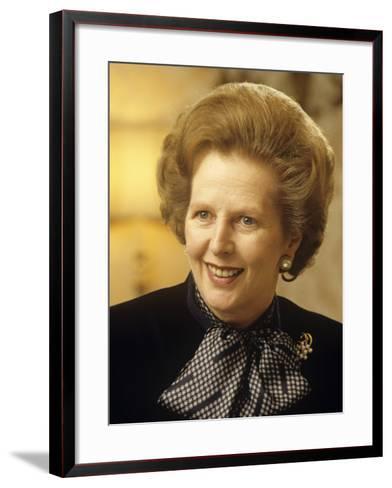 Margaret Thatcher--Framed Art Print