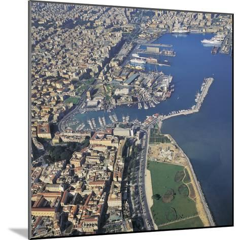 Aerial View of Buildings in a City, Palermo, Sicily, Italy--Mounted Photographic Print