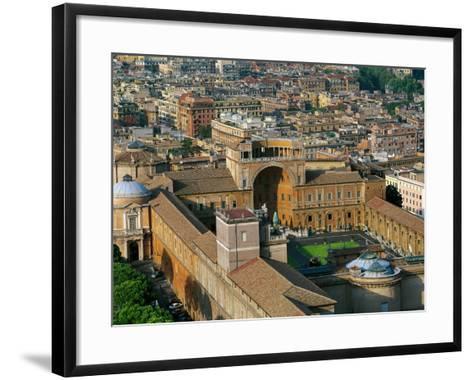 Italy - Lazio Region - Rome - Vatican City - Vatican Palace--Framed Art Print