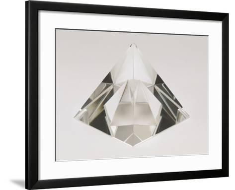 Close-Up of a Crystal Pyramid-G^ Cigolini-Framed Art Print