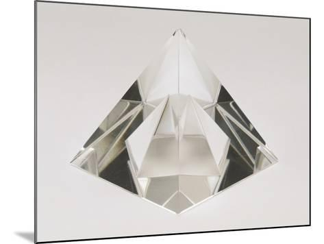 Close-Up of a Crystal Pyramid-G^ Cigolini-Mounted Photographic Print