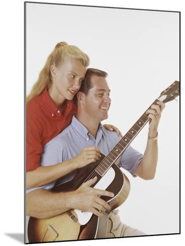 Couple with Guitar-Dennis Hallinan-Mounted Photographic Print