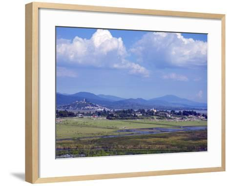 View of Island of Janitzio, Michoacan, Mexico-Keith Dannemiller-Framed Art Print