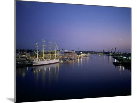 View of Gothenburg Harbour, Sweden--Mounted Photographic Print