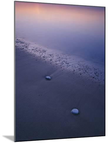 Stones on a Beach--Mounted Photographic Print