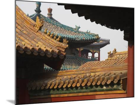 China, Beijing, Forbidden City, Traditional Architecture-Keren Su-Mounted Photographic Print