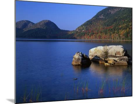 Usa, Maine, Acadia National Park, Jordon Pond-Jeff Foott-Mounted Photographic Print