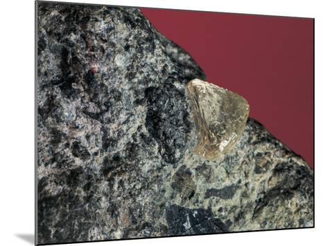 Close-Up of a Rough Diamond-C^ Bevilacqua-Mounted Photographic Print