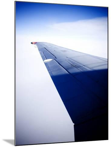 An Airplane Wing--Mounted Photographic Print