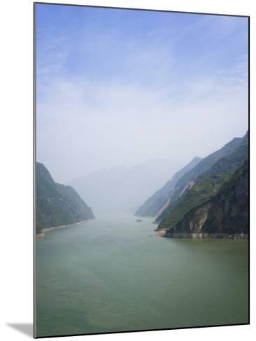 China, Yangtze River, Three Gorges, Landscape of Xiling Gorge-Keren Su-Mounted Photographic Print