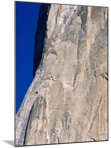 Rock Climbers Scale El Capitan-Jeff Foott-Mounted Photographic Print