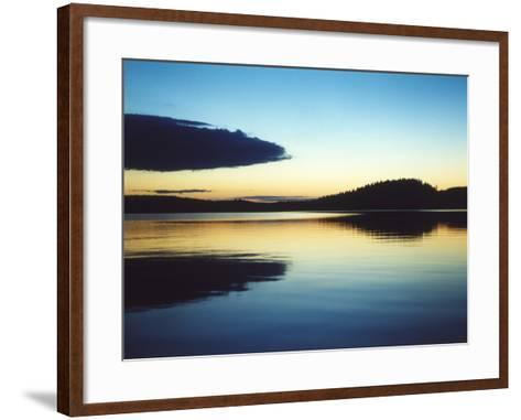 A Lake in Smaland, Sweden--Framed Art Print