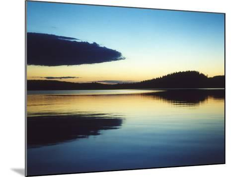 A Lake in Smaland, Sweden--Mounted Photographic Print