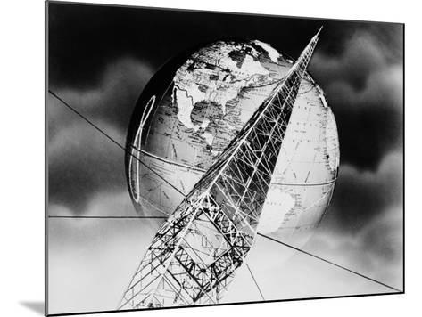Radio Tower Montage-H^ Armstrong Roberts-Mounted Photographic Print