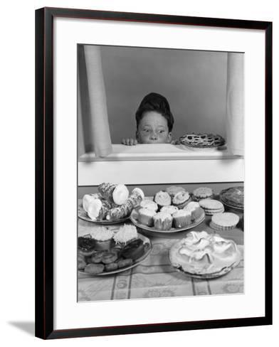 Cooling Pies-H^ Armstrong Roberts-Framed Art Print