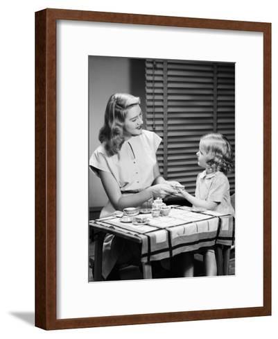 Tea Party-H^ Armstrong Roberts-Framed Art Print