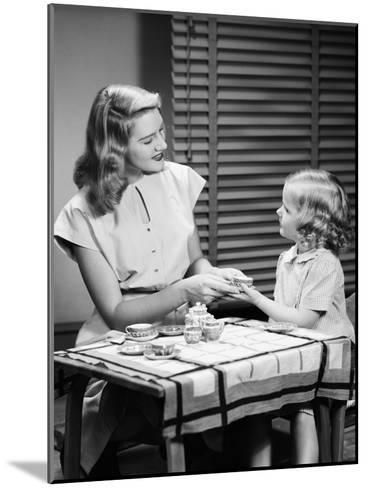 Tea Party-H^ Armstrong Roberts-Mounted Photographic Print