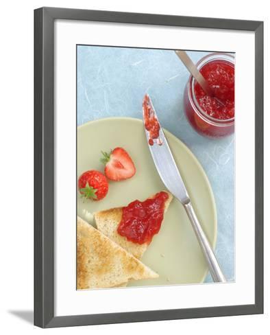 Strawberry Jam--Framed Art Print