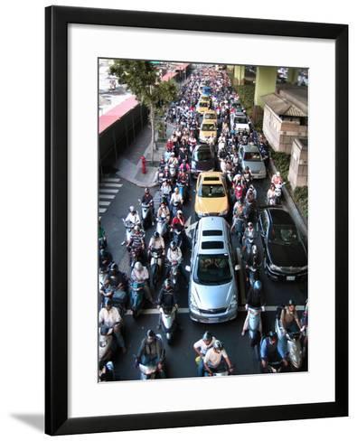 Taipei Traffic--Framed Art Print