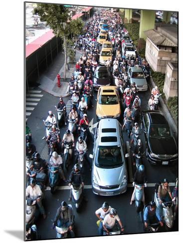 Taipei Traffic--Mounted Photographic Print