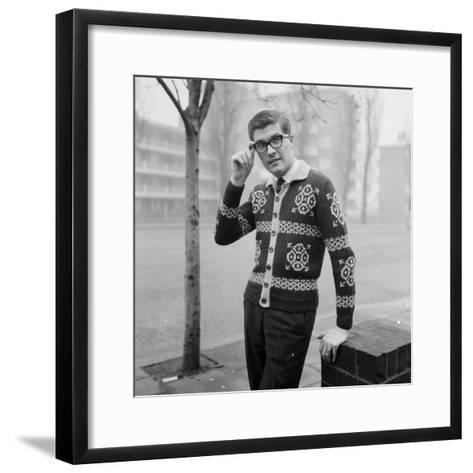 Patterned Jacket-Chaloner Woods-Framed Art Print