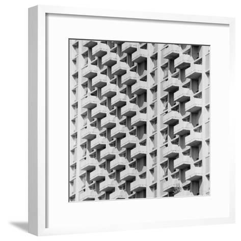 Apartment Building-H^ Armstrong Roberts-Framed Art Print