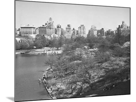 New York City, Central Park (B&W)-George Marks-Mounted Photographic Print