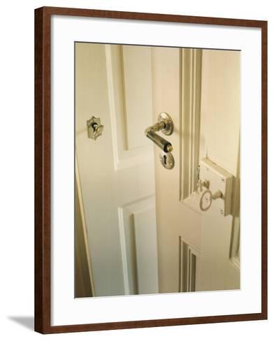 A Door--Framed Art Print