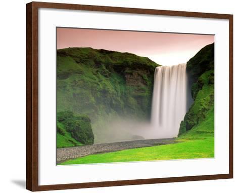 Skogafoss, South Iceland--Framed Art Print