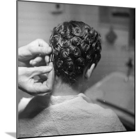 Hairdressing-Chaloner Woods-Mounted Photographic Print