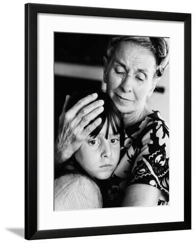 Grandmother and Granddaughter-H^ Armstrong Roberts-Framed Art Print